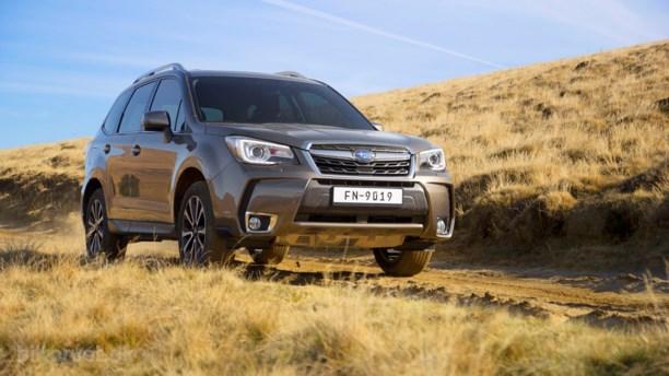 Ned med prisen på Subaru Forester XT