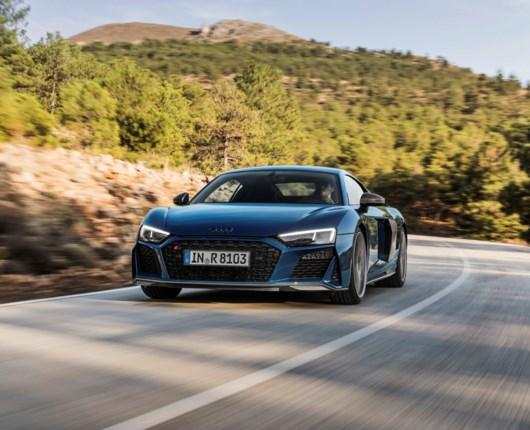 Mere race i den nye Audi R8