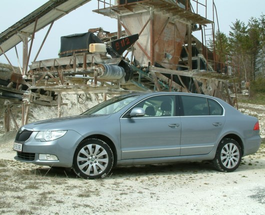 Skoda Superb - triple test