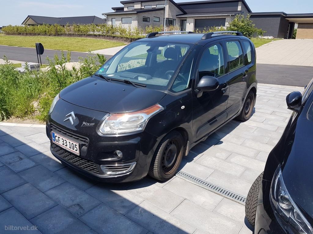 Citroën C3 Picasso 1,6 HDi 90 FAP 92HK 2011