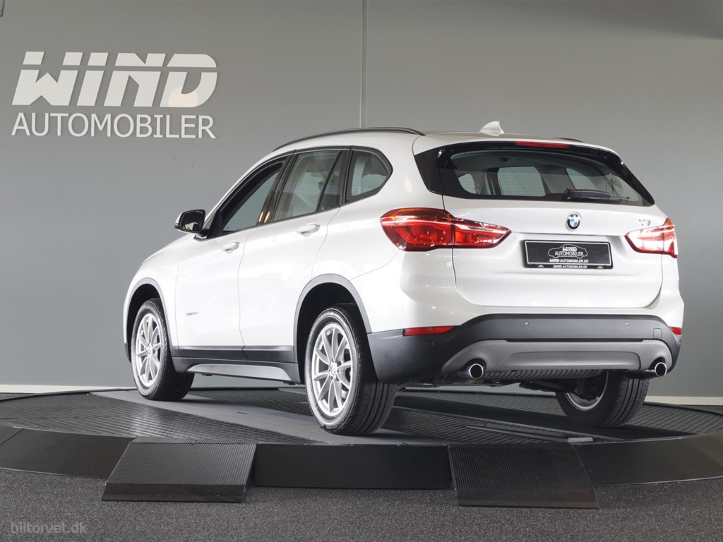 BMW X1 20D 2,0 D SDrive Steptronic 190HK 5d 8g Aut. 2017