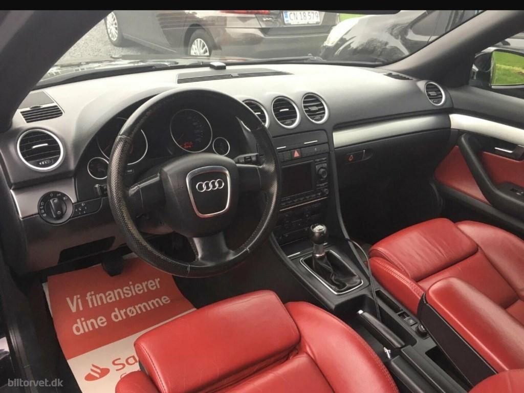 Audi A4 1,8 T 163HK Cabr. 2007