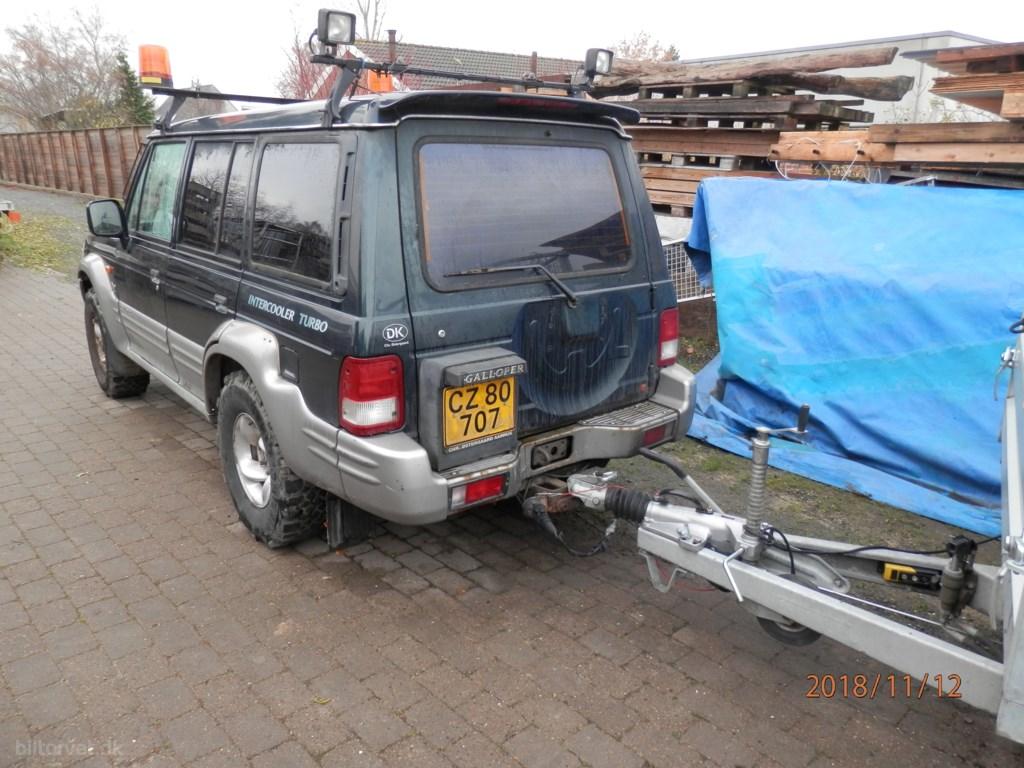 Hyundai Galloper 2,5 TD 99HK Van 2000