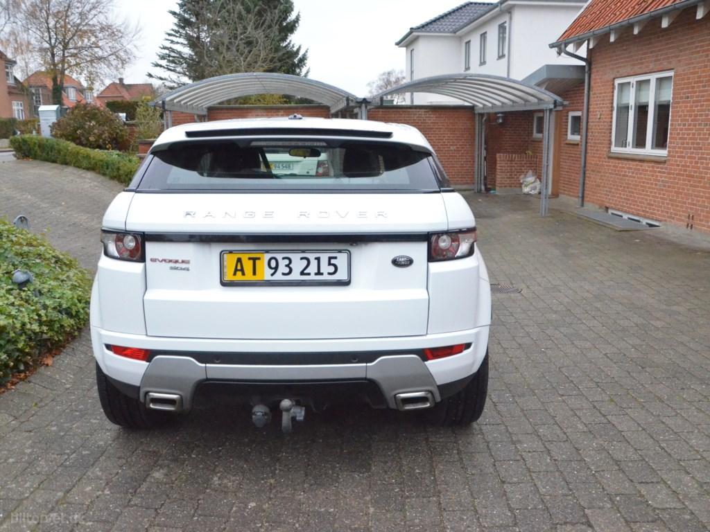Land Rover Range Rover Evoque 2,2 SD4 Dynamic 4x4 190HK Van 6g Aut. 2011