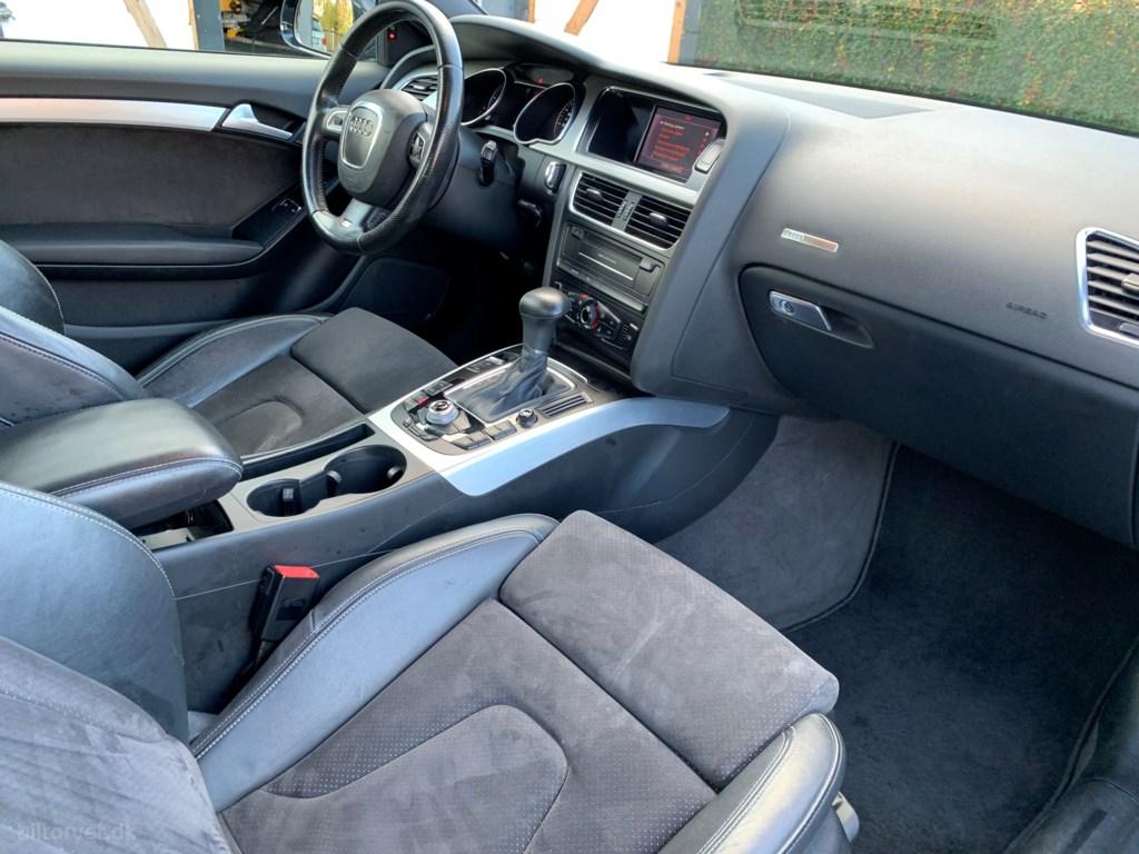 Audi A5 2,0 TFSI Multitr. 210HK 2d Trinl. Gear 2009