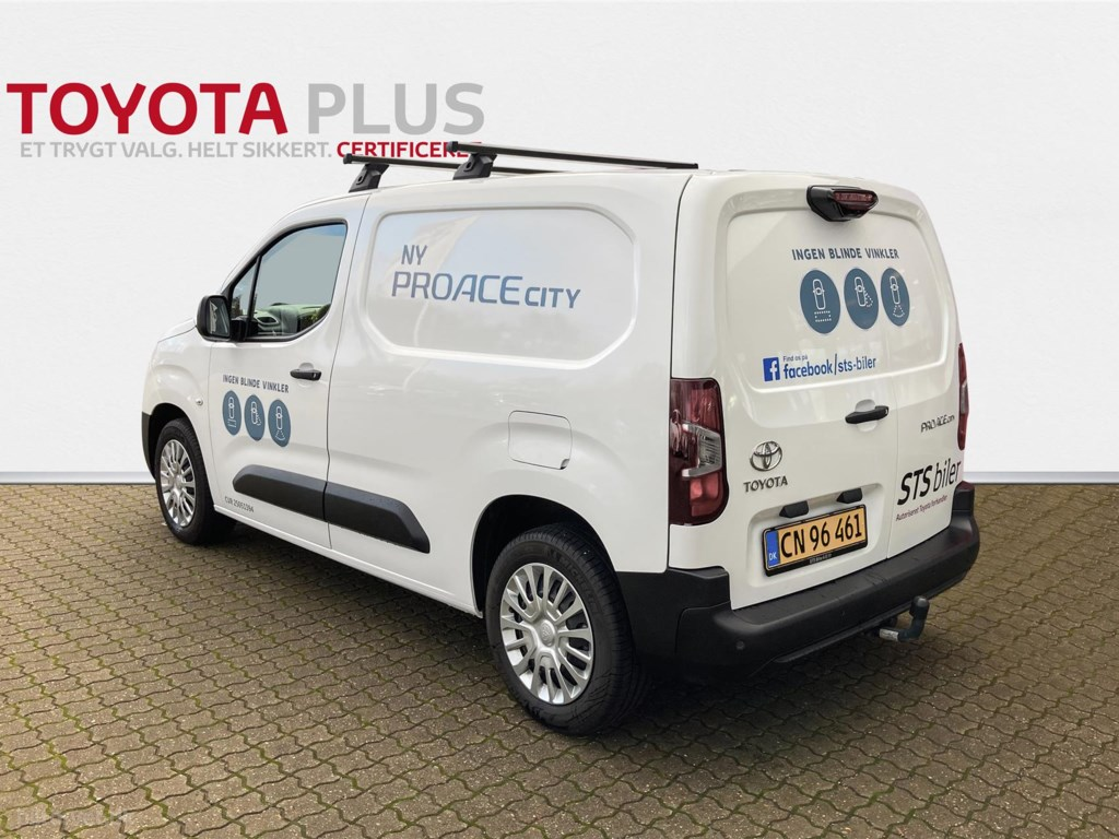 Toyota Proace City Medium 1,5 D Comfort Smart Active Vision 102HK Van 2020
