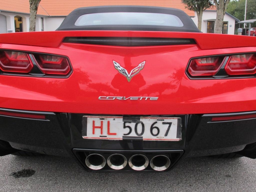 Chevrolet Corvette C7 6,2 V8 Z51 466HK Cabr. 8g Aut. 2016