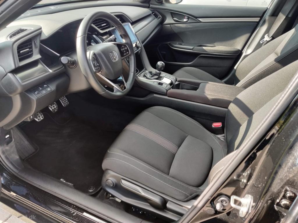 Honda Civic 1,0 VTEC Turbo Elegance Navi 129HK 5d 6g 2018