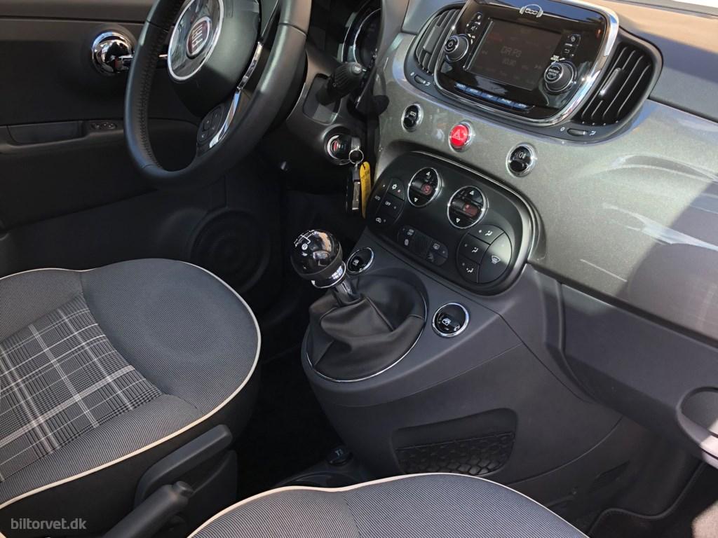Fiat 500 0,9 TwinAir Lounge Start & Stop 80HK 3d 2017