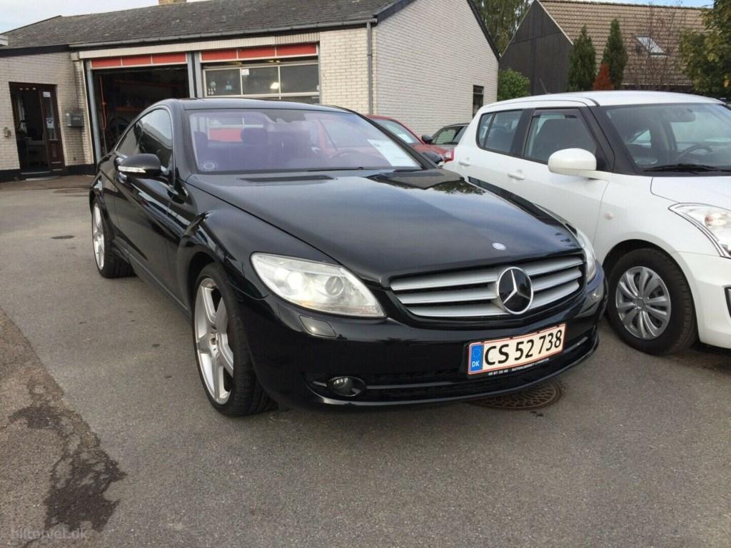 Mercedes-Benz CL500 5,5 V8 aut. 2007
