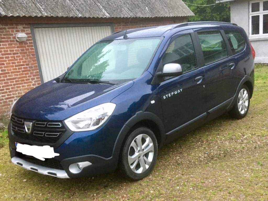 Dacia Lodgy 7 Sæder 1,5 DCi Stepway Start/Stop 90HK 2018