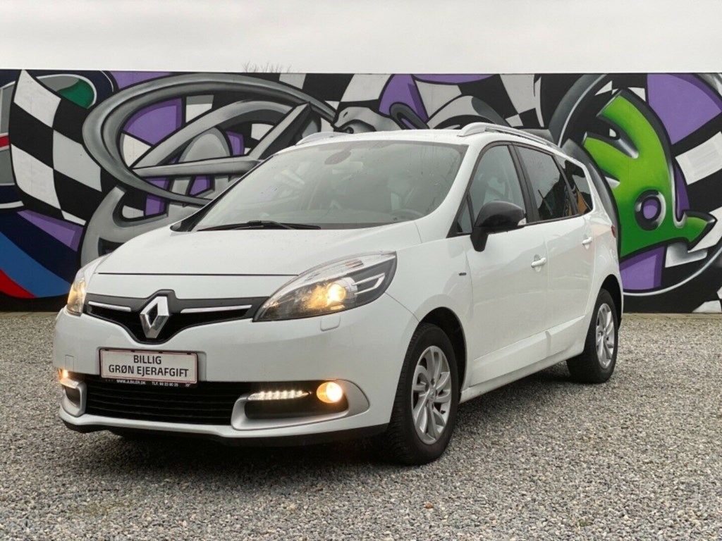 Renault Grand Scenic III 1,5 dCi 110 Limited Edition 7prs 2016