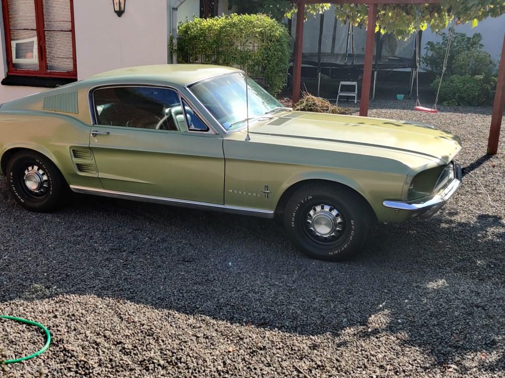 Ford Mustang 4,7 V8 225HK 2d Aut. 1967