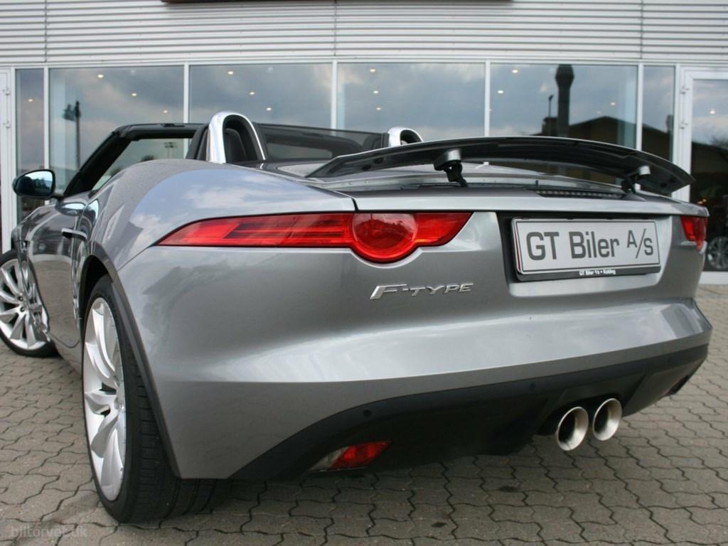 Jaguar F-Type 3,0 S/C Convertible aut. 2014