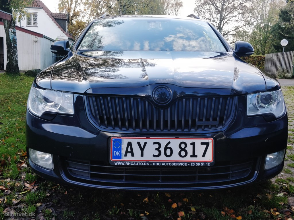 Skoda Superb 1,6 TDI Greenline 105HK 2011