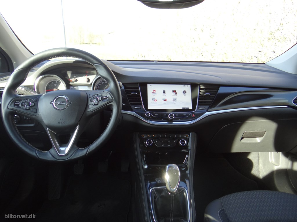 Opel Astra 1,4 Turbo Innovation 150HK 5d 6g 2016