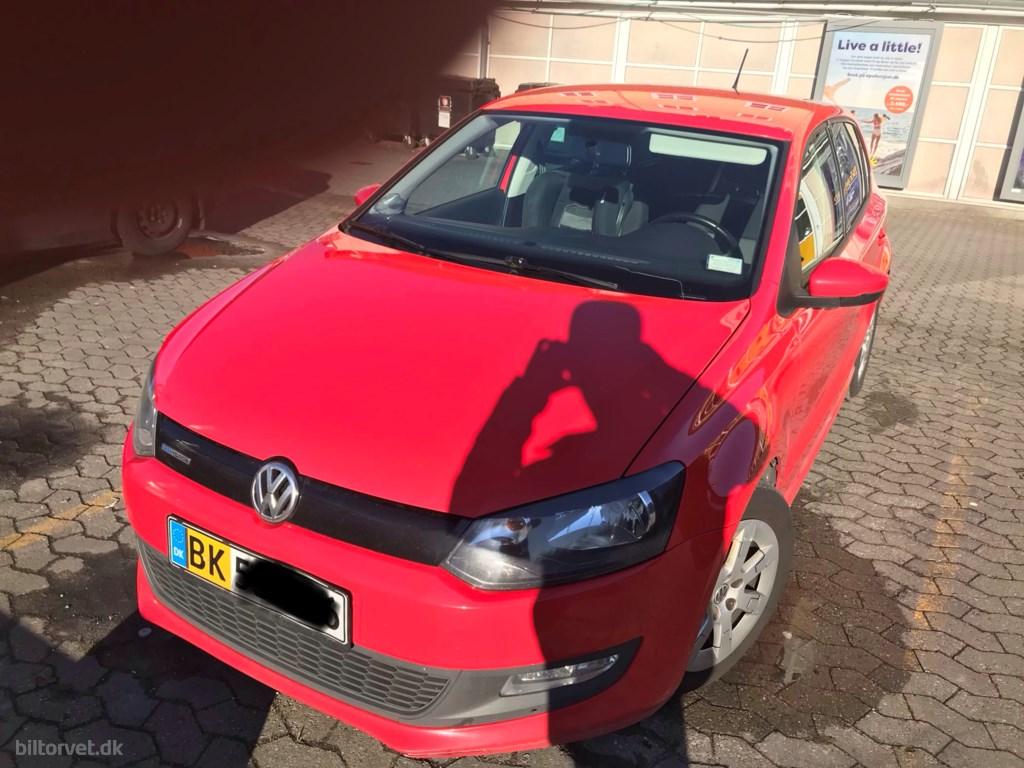 VW Polo 1,2 blueMotion TDI 75HK 5d 2011