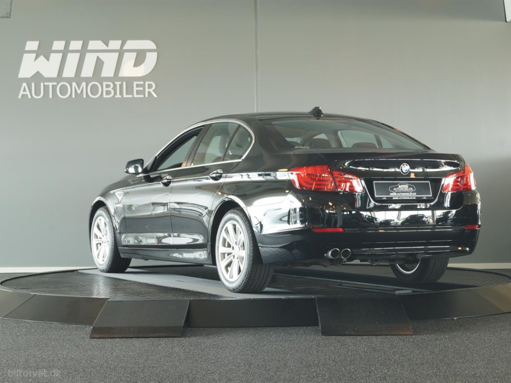 BMW 520d 2,0 D Steptronic 184HK 8g Aut. 2013