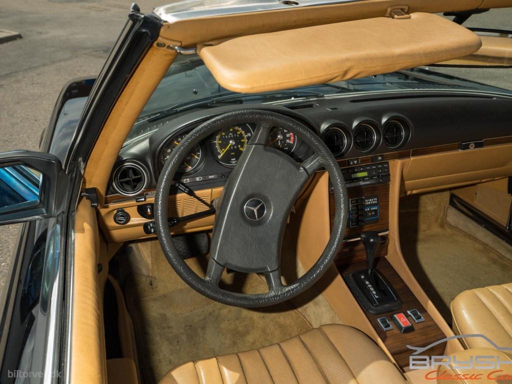 Mercedes-Benz SL 380 3,8 218HK Cabr. Aut. 1980