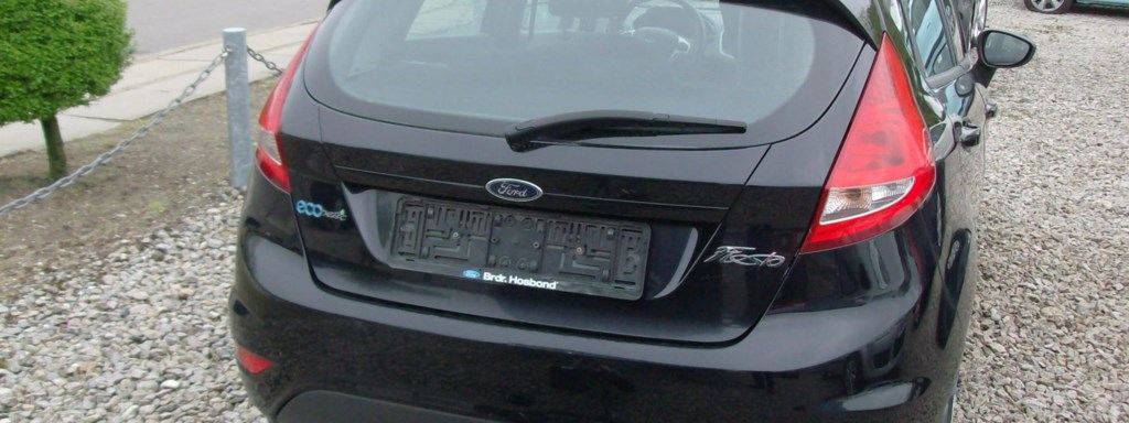 Ford Fiesta 1,6 TDCi DPF Econetic 90HK 5d 2009