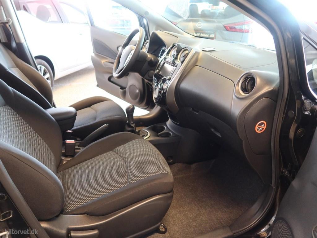 Nissan Note 1,5 DCi Acenta 90HK 5d 2013