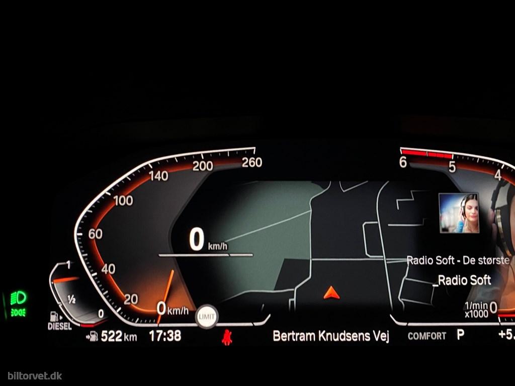 BMW 320d 2,0 D Sportline 190HK 8g Aut. 2020
