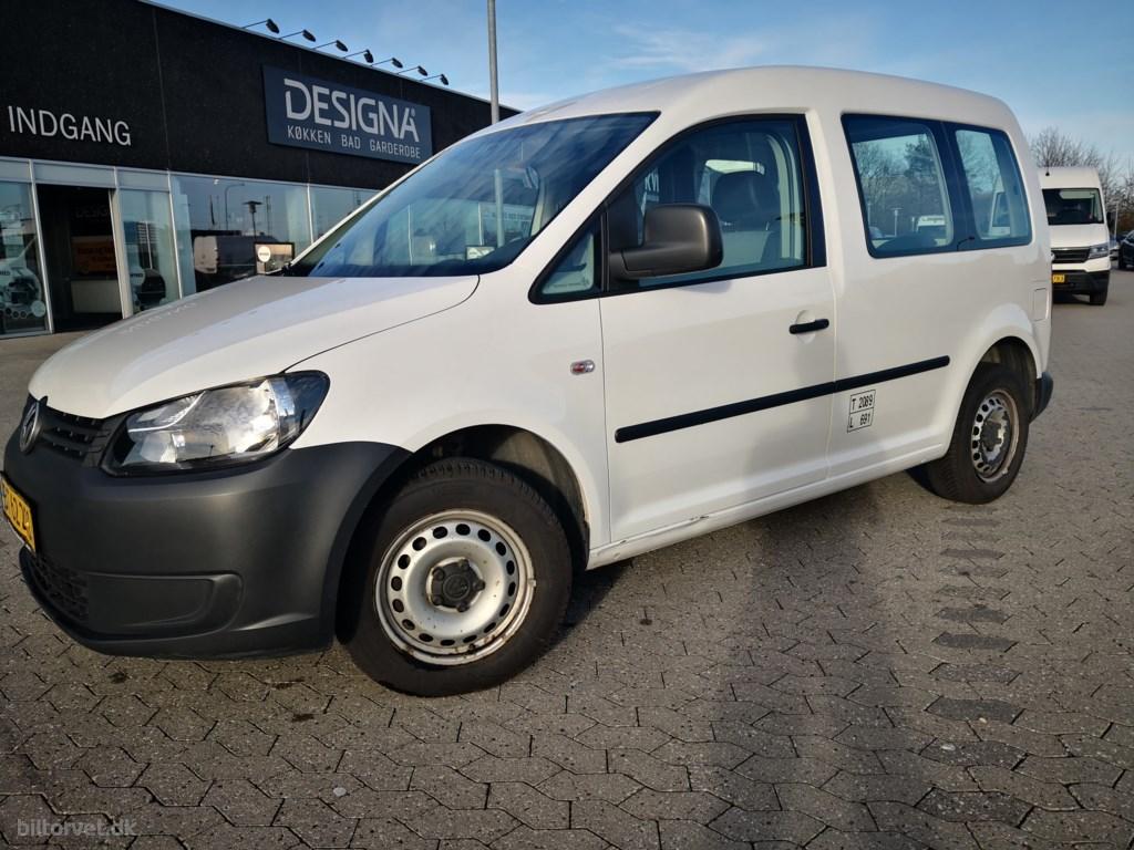 VW Caddy 1,2 TSI 85HK Van 2012