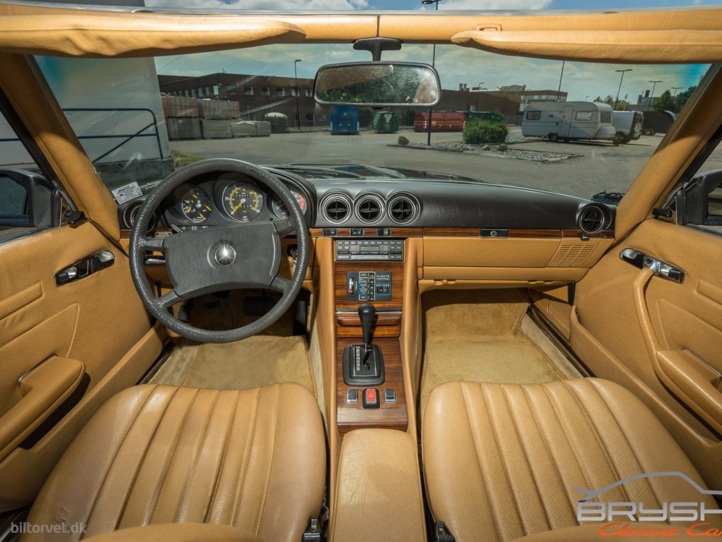 Mercedes-Benz SL380 3,8 218HK Cabr. Aut. 1980