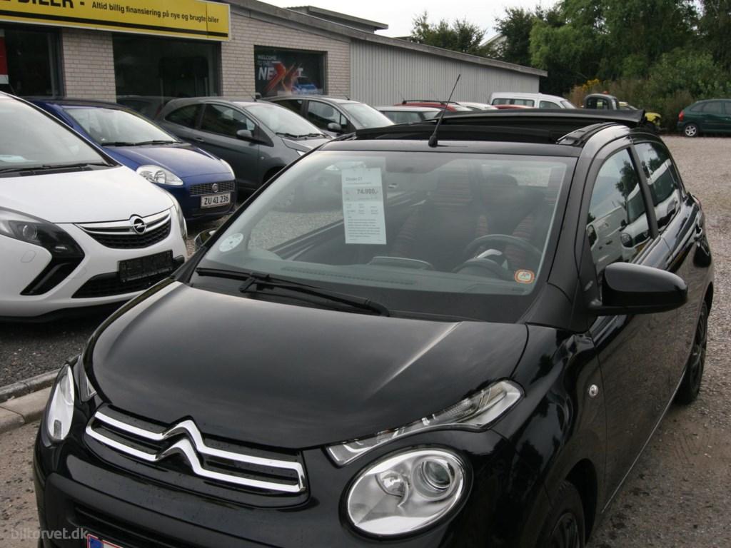 Citroën C1 1,0 VTi Feel Airscape start/stop 68HK 5d 2014