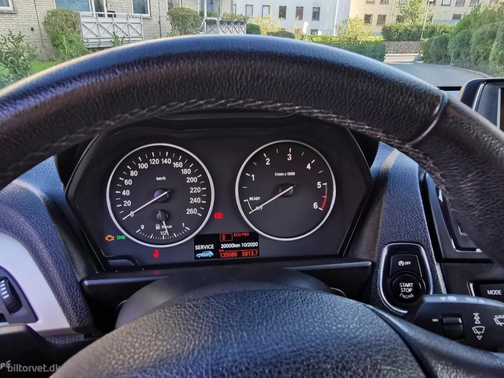 BMW 116d 1,6 EfficientDyn. 116HK 5d 6g 2013