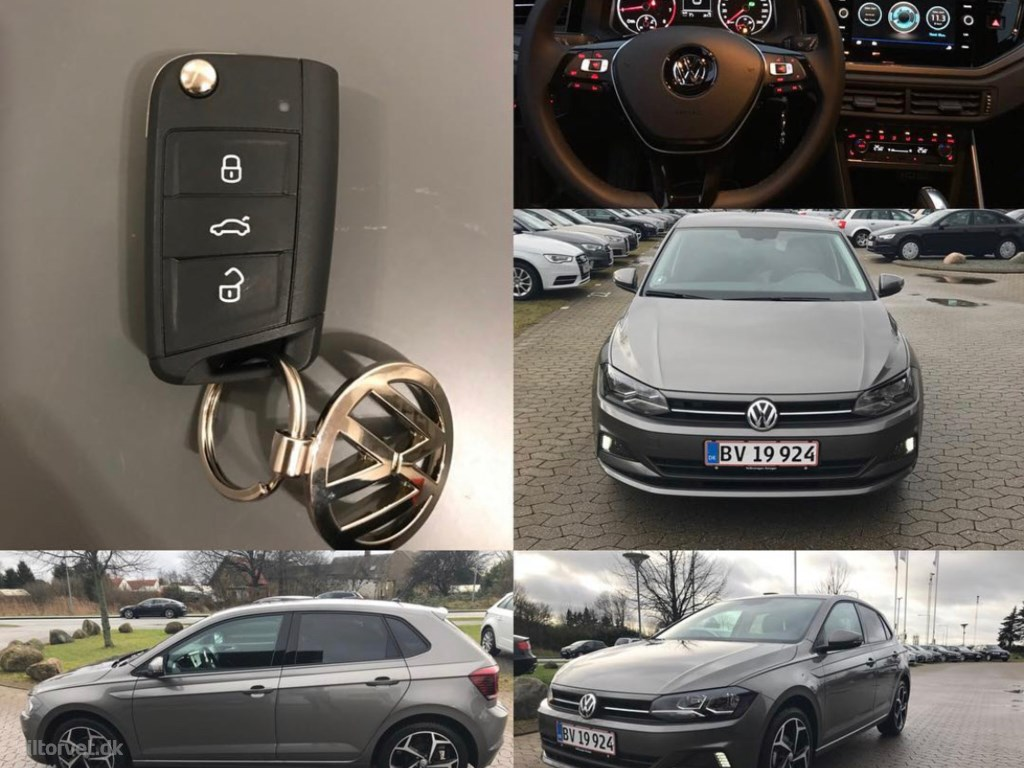 VW Polo 1,0 TSI Comfortline Connect DSG 95HK 5d 7g Aut. 2018