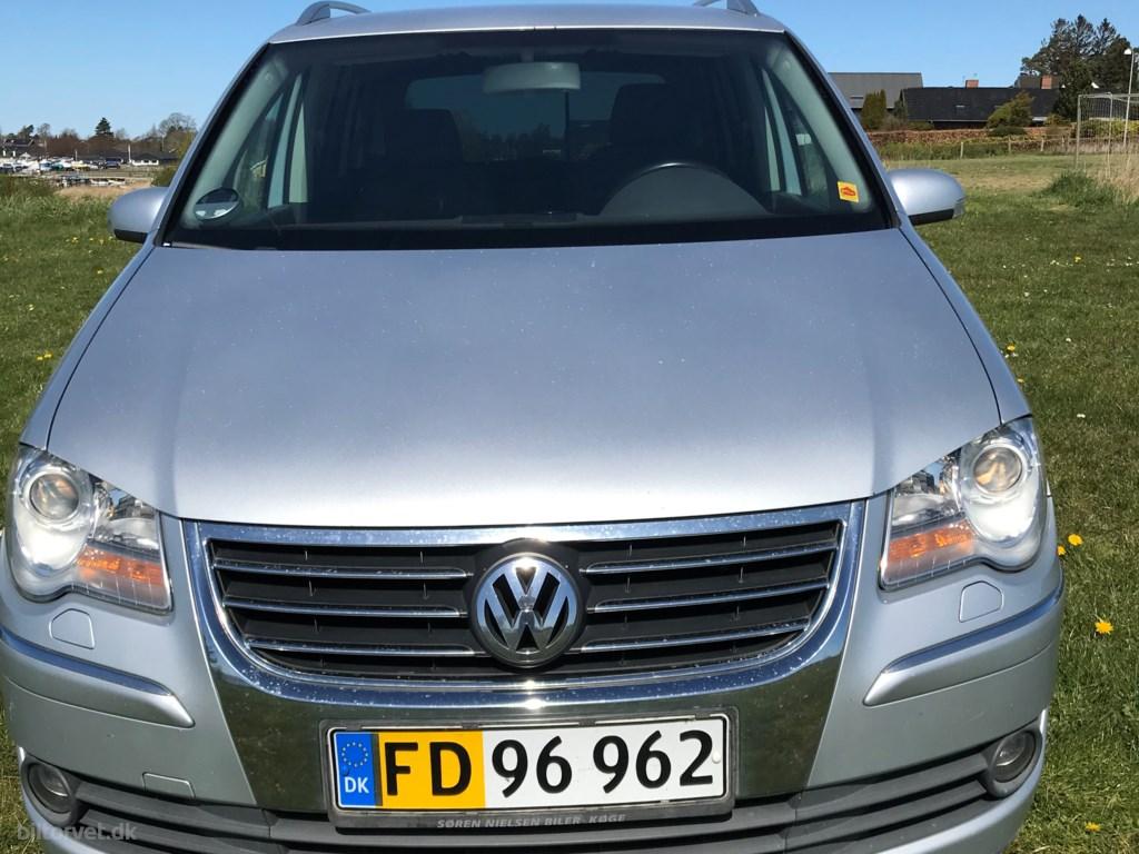 VW Touran 2,0 TDI DPF Highline DSG 170HK Van 6g Aut. 2007