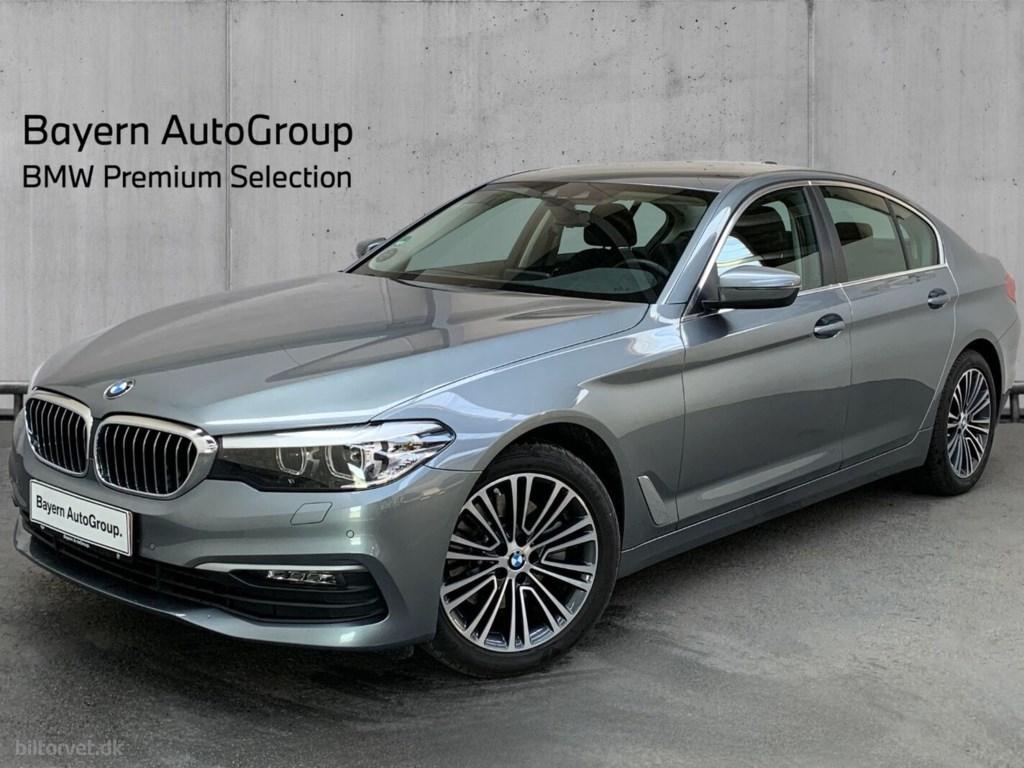 BMW 520d 2,0 Connected aut. 2019