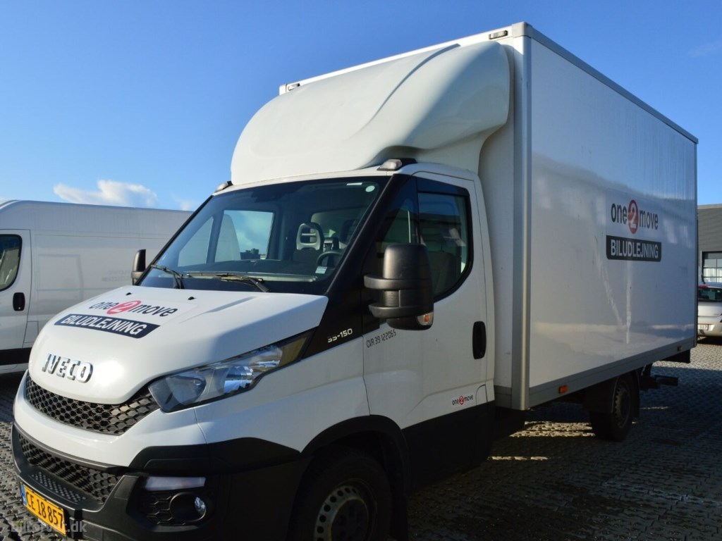 Iveco Daily 2,3 35S15 Alukasse m/lift 2016