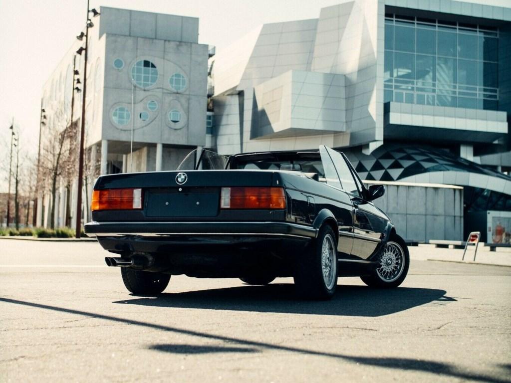 BMW 325i 2,5 Cabriolet 1987