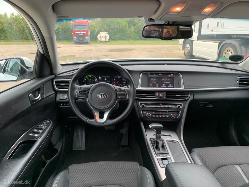 Kia Optima SW 2,0 GDI Plugin 205HK Stc 6g Aut. 2018
