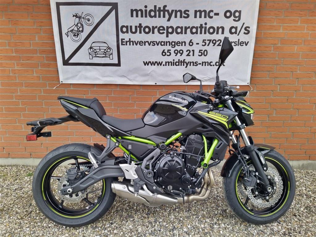 Kawasaki Z650 69HK 6g 2020