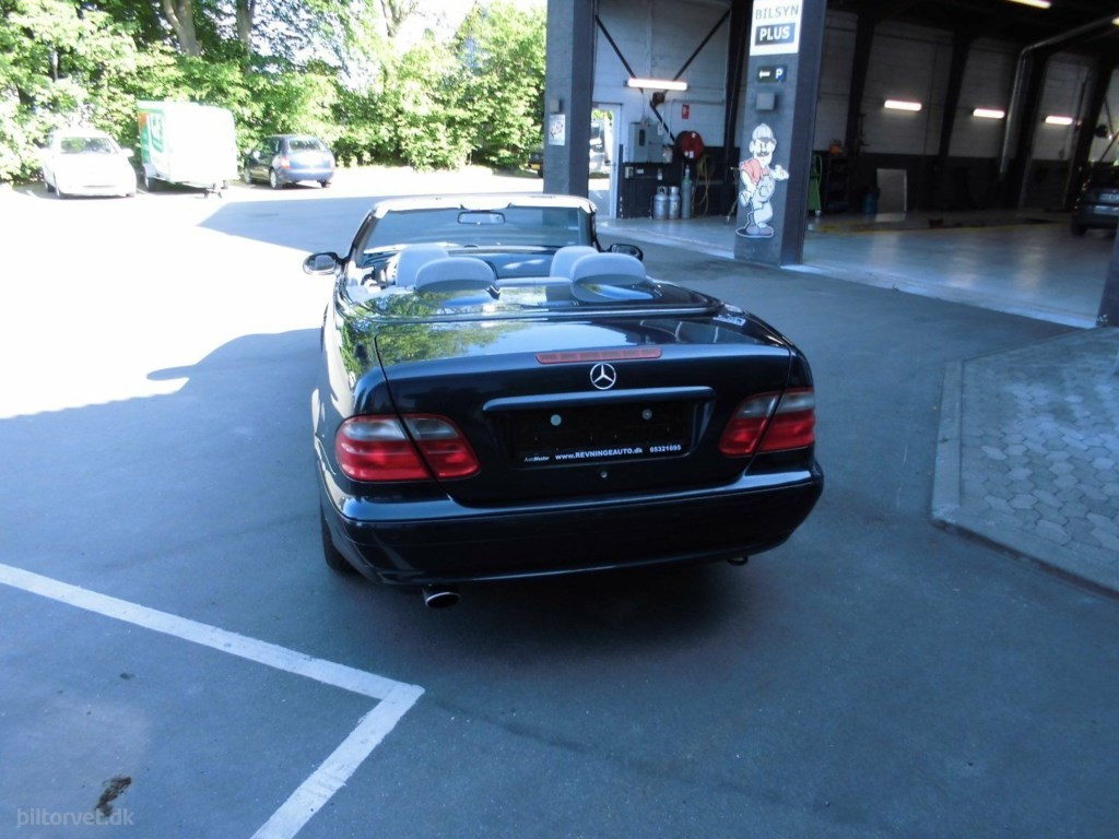 Mercedes-Benz CLK230 2,3 Komp. Cabriolet 2001