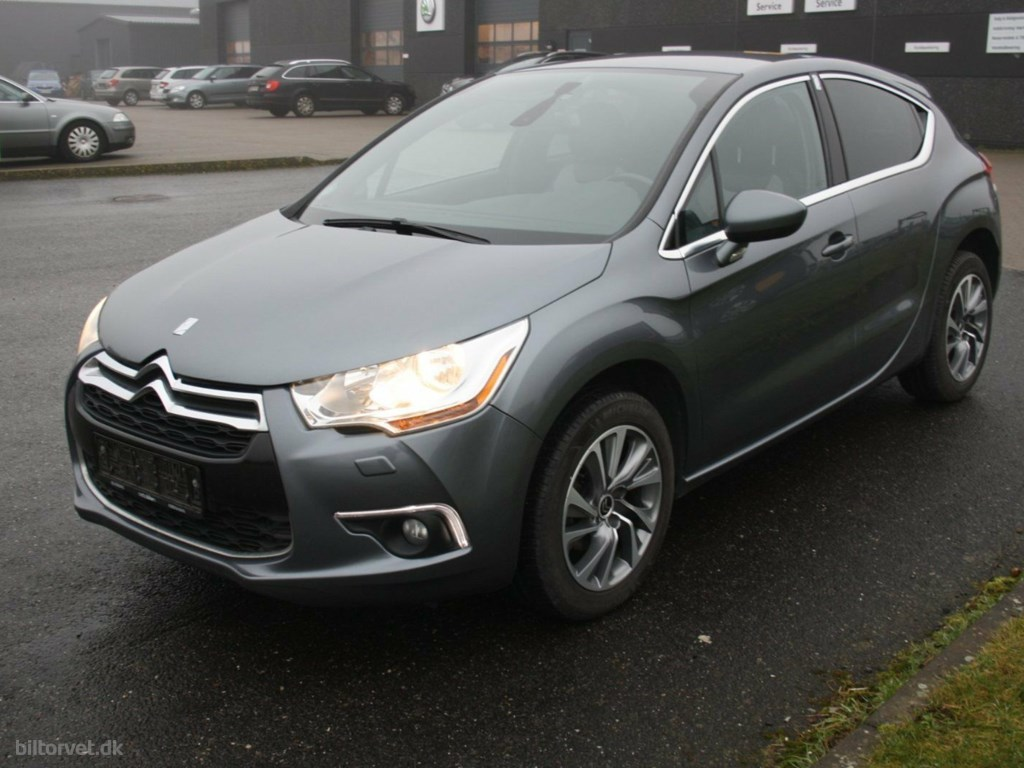 Citroën DS4 1,6 HDi 112 Style 2012