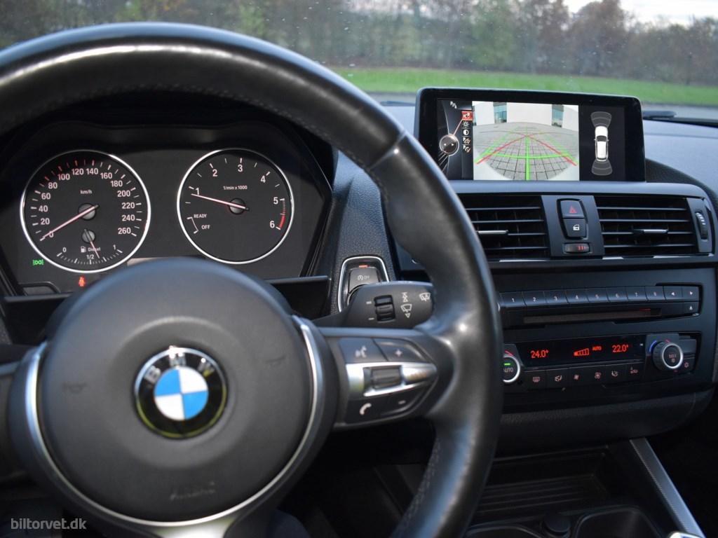 BMW 118d 2,0 D 143HK 5d 8g Aut. 2014