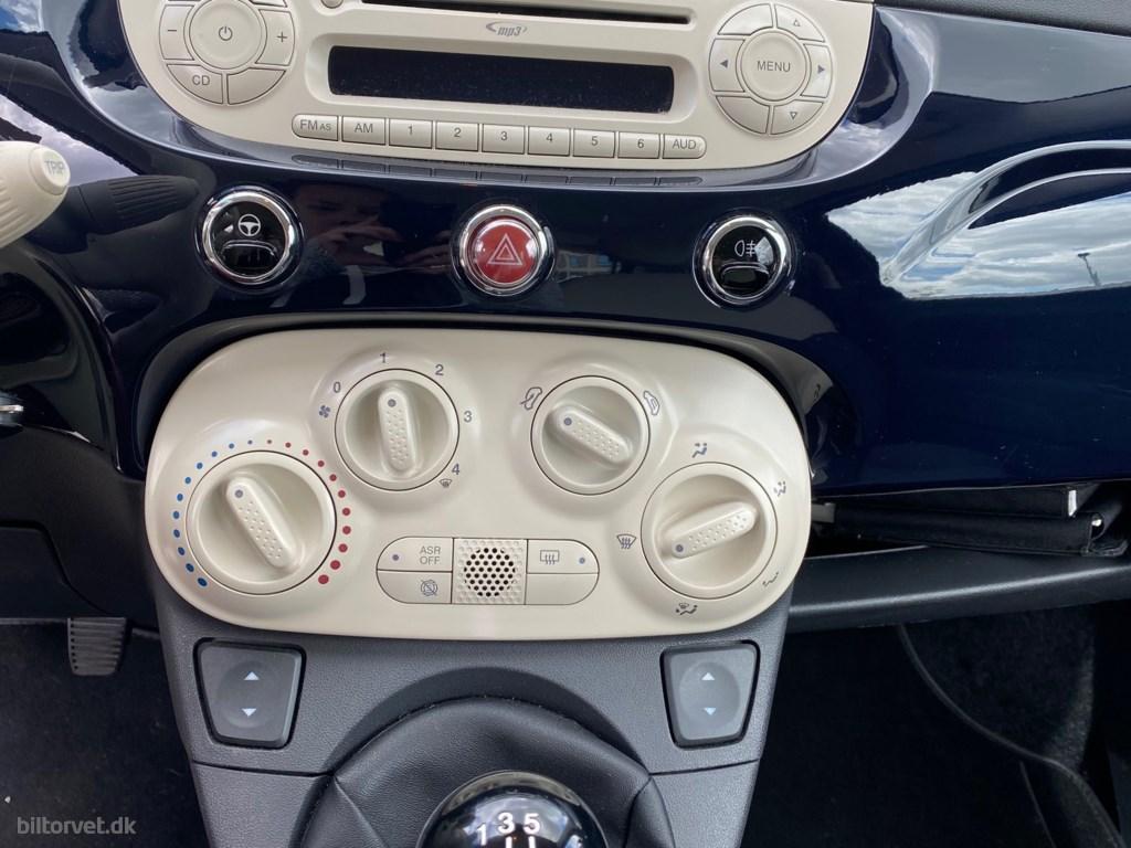 Fiat 500 1,2 Matt Black Start & Stop 69HK 3d 2010