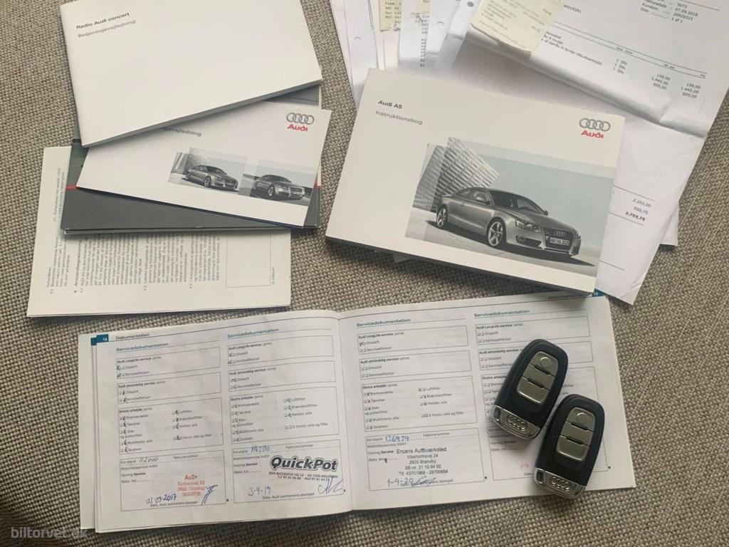 Audi A5 1,8 TFSI 170HK 2d 6g 2008