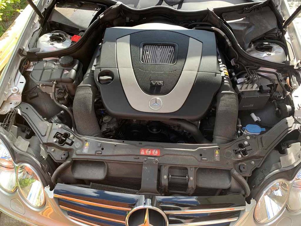 Mercedes-Benz CLK 280 3,0 Avantgarde 231HK Cabr. Aut. 2008