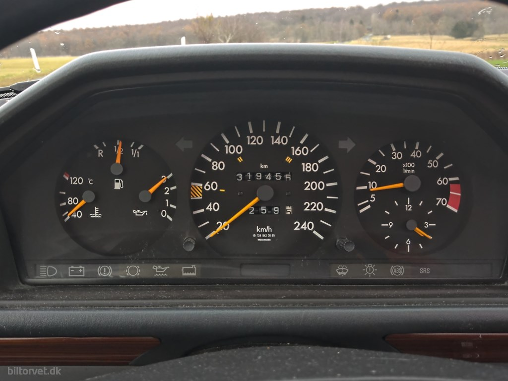 Mercedes-Benz 300E 3,0 4-Matic 180HK Aut. 1992