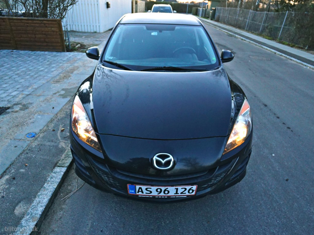 Mazda 3 1,6 DE DPF Advance 109HK 5d 2010