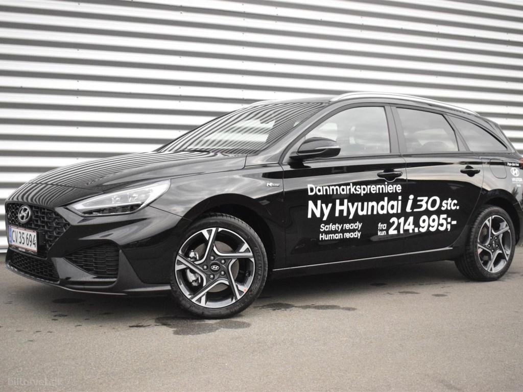 Hyundai i30 Cw 1,0 T-GDI N-Line DCT 120HK Stc 7g Aut. 2021