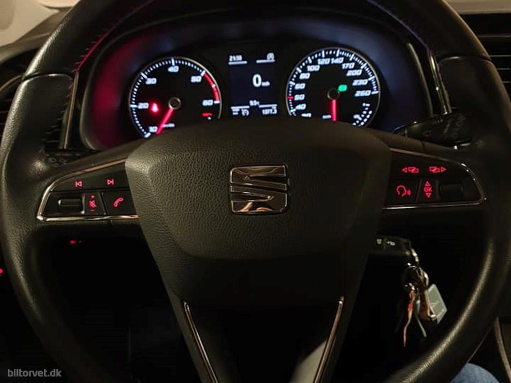 Seat Leon 1,6 TDI Style Start/Stop DSG 105HK 5d 7g Aut. 2014