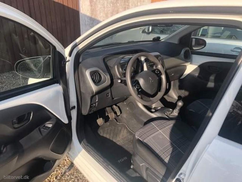 Peugeot 108 1,0 e-Vti Active 69HK 5d 2017