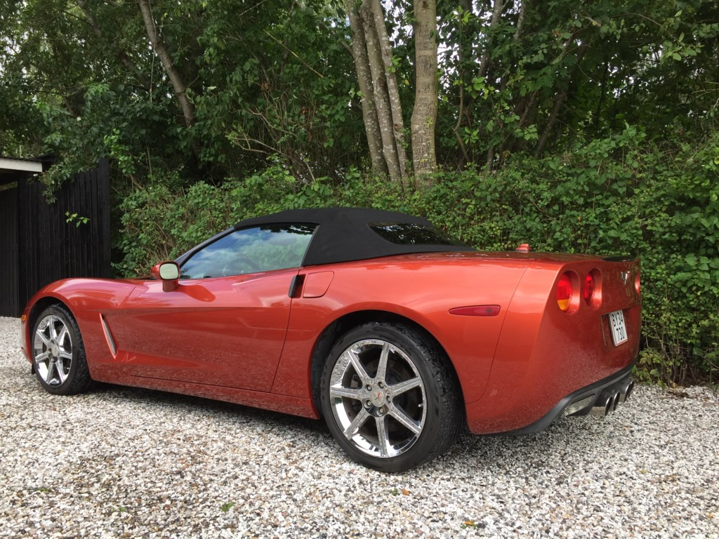 Chevrolet Corvette 6,0L V8 aut. Convertible 403HK Cabr. 2005