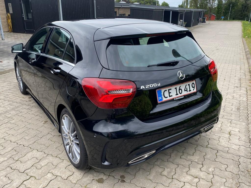 Mercedes-Benz A200 d 2,1 CDI Edition 7G-DCT 136HK 5d 7g Aut. 2018